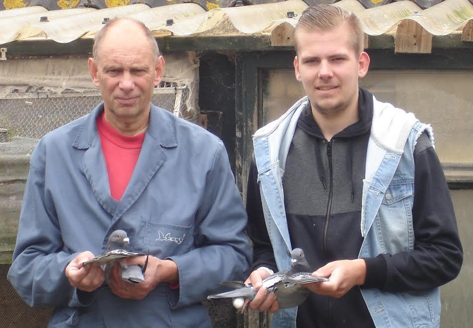 Hans en Eelke de Ruig, Oudebildtzijl, winnen Bergerac in de afdeling Friesland (deel 1)