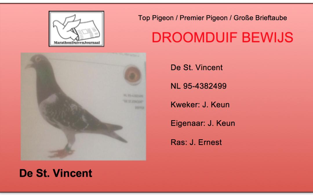 Perfecte Duif: De St. Vincent van Jacob Keun