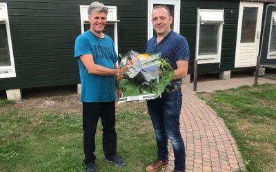 Harold Zwiers, Den Ham, wint Super Cup bij de Marathon Noord