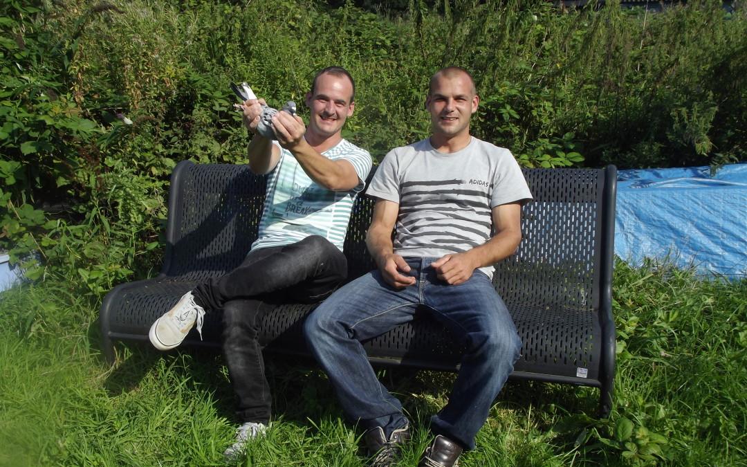 Jurrian en Jay binnenkort op Het Marathonduivenjournaal