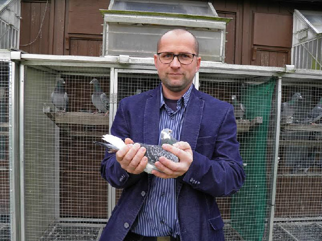 Martin de Poorter, Sluis, wint ochtendlossingsvlucht vanuit Bergerac in afdeling Zeeland