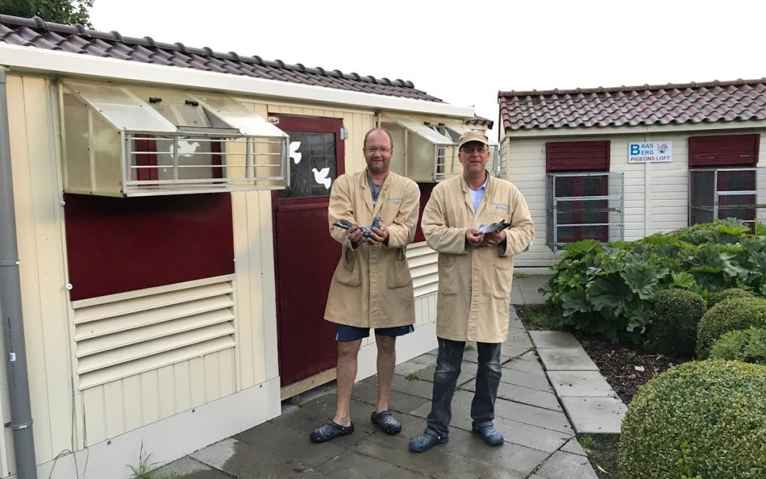 Paul Baas en Richard van den Berg, De Kwakel, winnen Agen in Fondunie 2000
