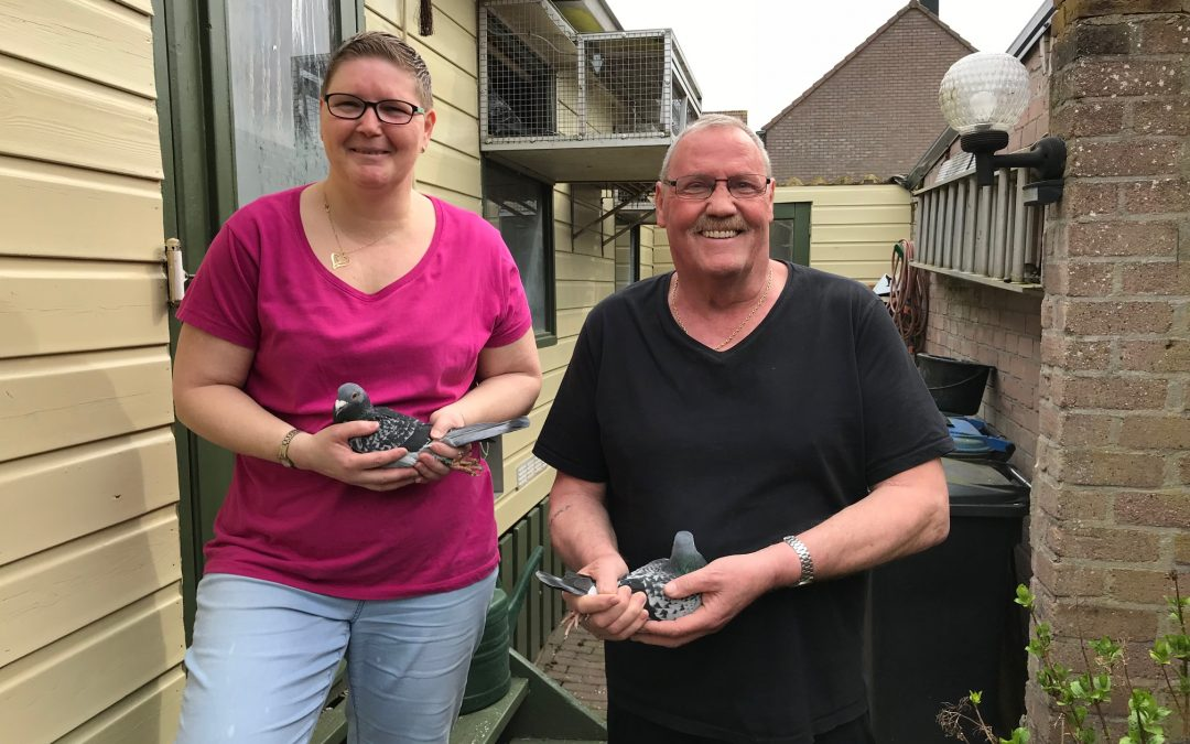 Tom en Bianca van Dee uit Tiel verkopen de 3e ronde van hun kwekers