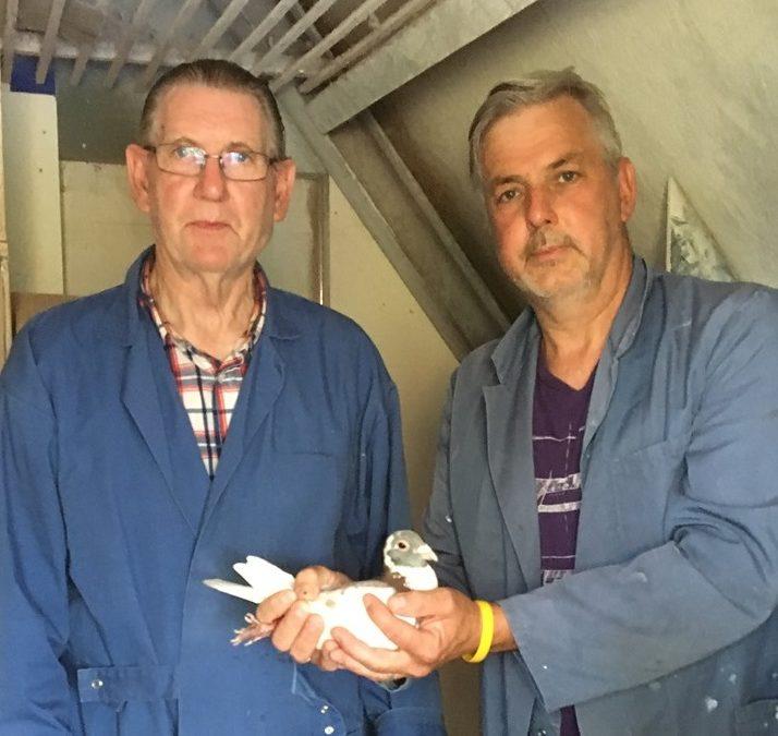 Familie van den Berg, Ridderkerk, winnen Bordeaux Sector 2