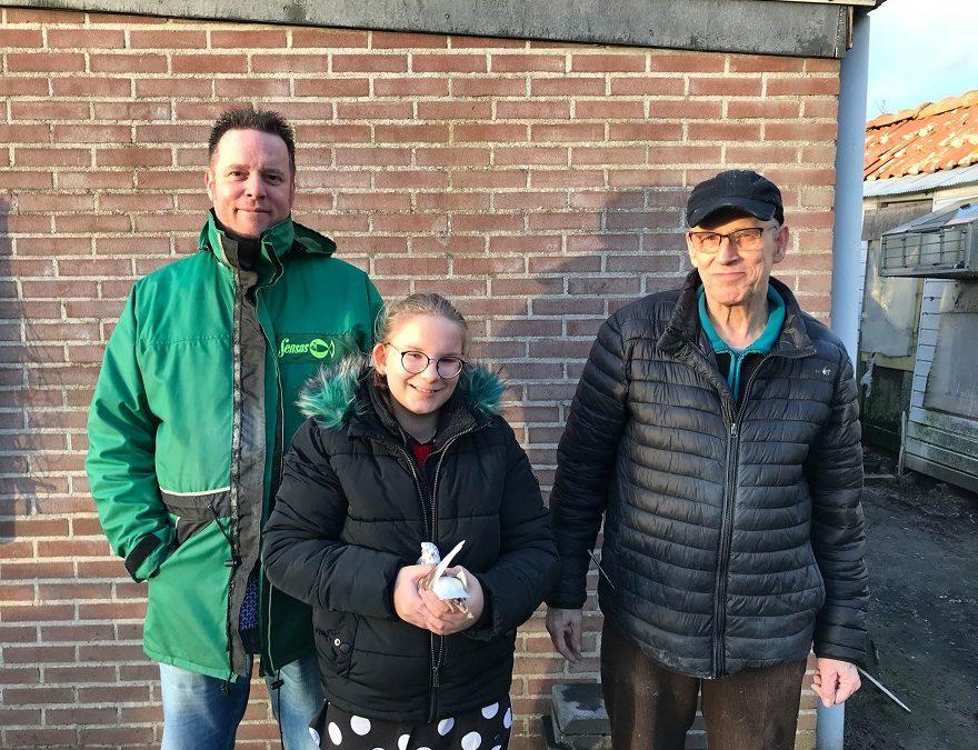 Antony van Dijk, Honselersdijk, Onaang. Kampioen ZLU-vluchten SNZH (1)