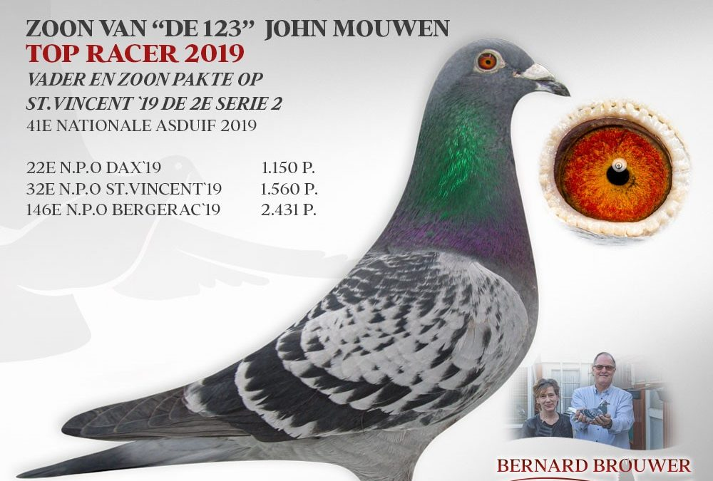 Bernard Brouwer, Breda, Onaang. Kampioen Marathon Brabant 2000 (2)