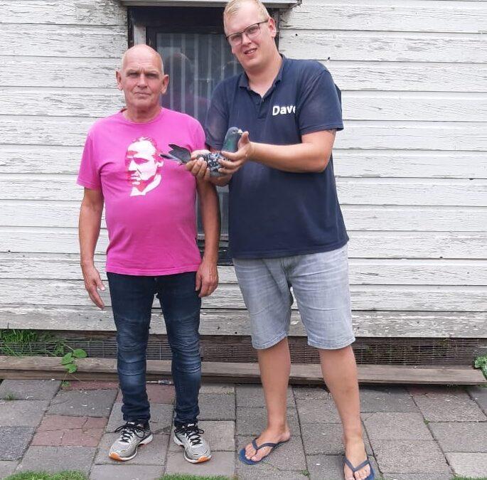 Adriaan Zoetbrood en zoon Dave winnen St. Vincent in Sector 3