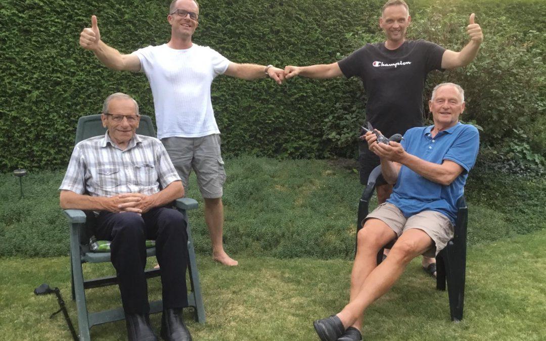 Gijs en Wilfred Hamstra, Harderwijk, winnen Nationaal Agen ZLU Oud (1)