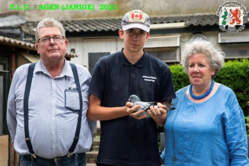 Winkens-Rothenburg, Itteren, winnen Nationaal Agen Jaarlingen